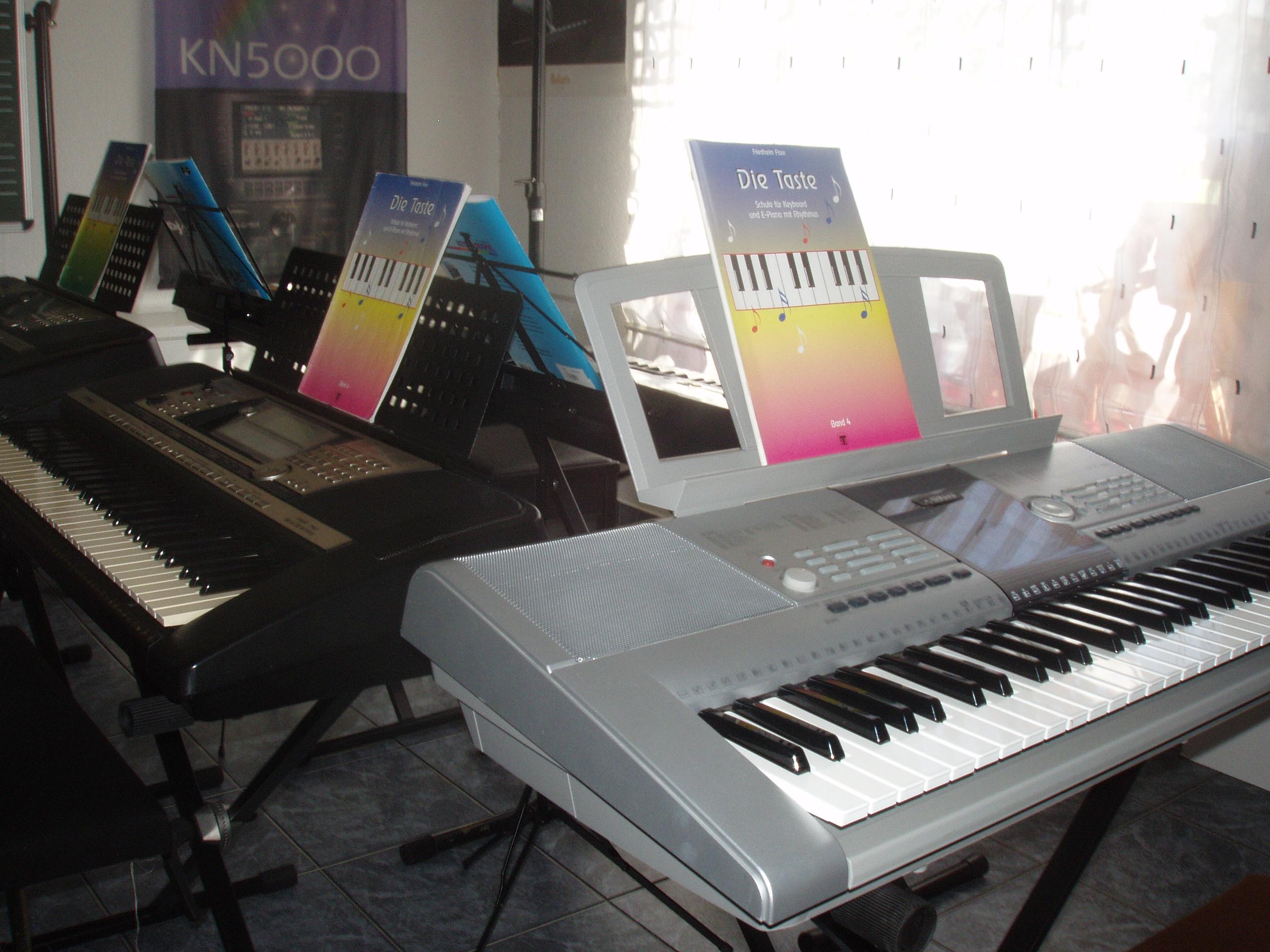 Keyboard-Raum